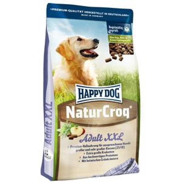 Корм Хеппи Дог сухой NaturCroq XXL для собак крупных и гигантских пород (большие гранулы), 15 кг, Happy Dog