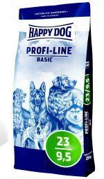 Корм Хеппи Дог сухой Profi-Line Basic 23/9,5 для взрослых собак, 20 кг, Happy Dog