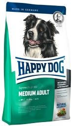 Корм Хеппи Дог сухой Суприм FitWell Adult Medium для взрослых собак, ФитВелл Медиум Эдалт, в ассортименте, Happy Dog