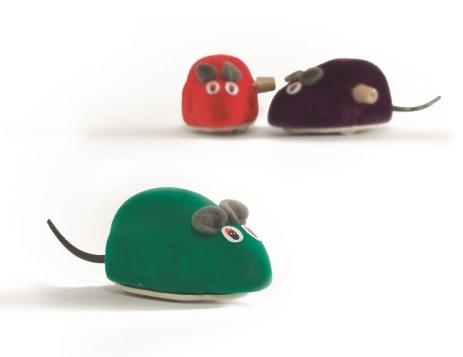 Мышь заводная, цвета в ассортименте, I.P.T.S.
