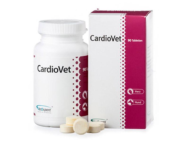 ВетЭксперт Кардиопротектор CardioVet (КардиоВет) для собак, 90 таб, VetExpert