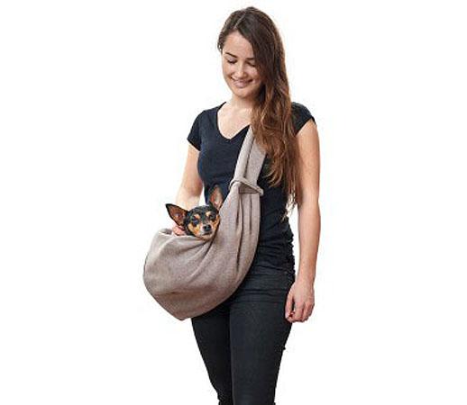 Хантер Слинг Los Angeles для собак, бежевый/серый, 60*30 cм, Hunter