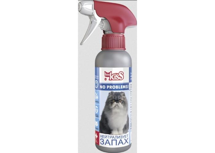 Миссис Кисс Спрей Нейтрализатор запаха для кошек, 200 мл, Ms. Kiss