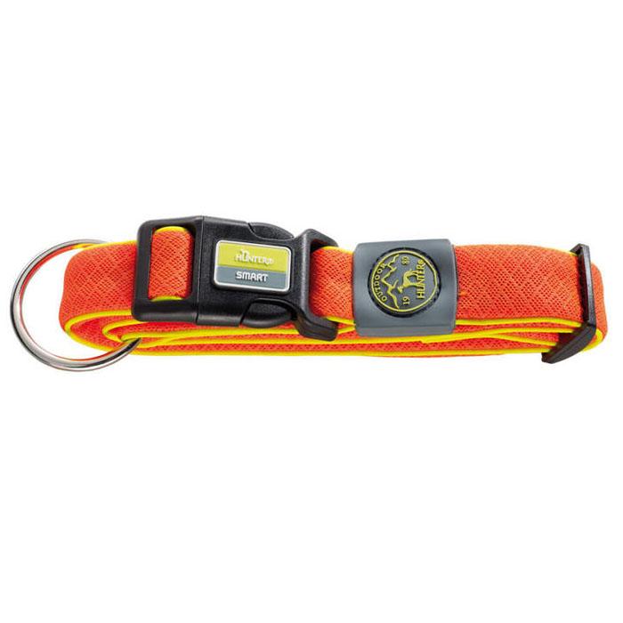Хантер Ошейник для собак Maui оранжевый, сетчатый, текстиль, в ассортименте, Hunter