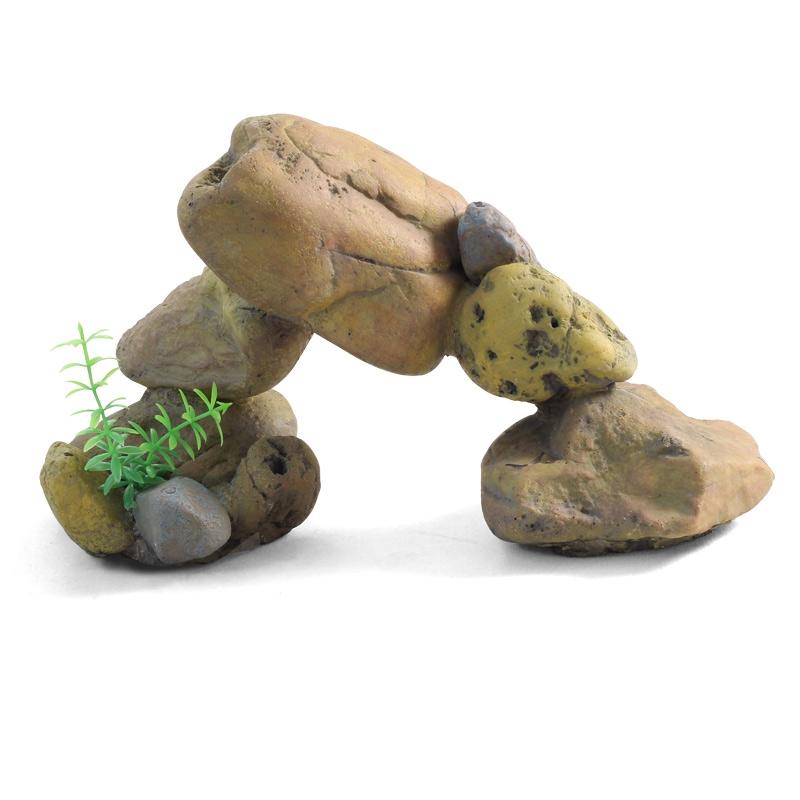 """Лагуна-Триол Декорация """"Грот из пяти камней"""", 29*12*16 см, Lagunа-Triol"""
