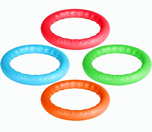 Игровое кольцо для аппортировки PitchDog 20, диаметр 20 см, в ассортименте, Collar