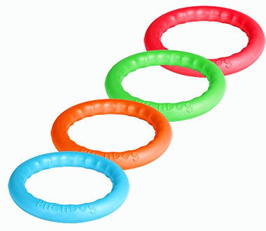Игровое кольцо для аппортировки PitchDog 30, диаметр 28 см, в ассортименте, Collar