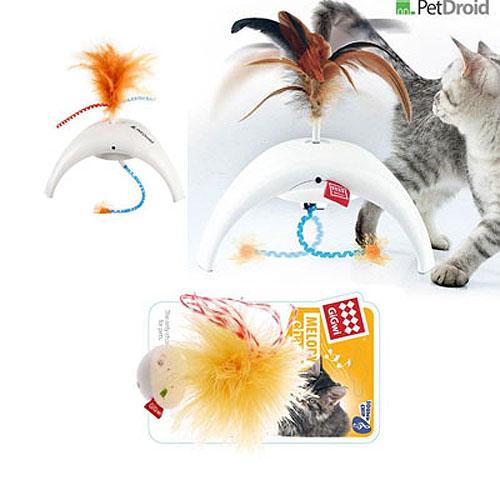 Гигви Электронная игрушка для кошек Pet Droid со звуковым чипом, в ассортименте, GiGwi