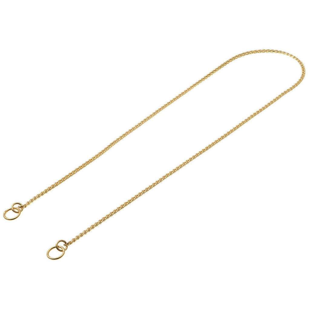 ВиПет Ринговка (цепочка-кобра рывковая), ювелирное плетение, золоченая, в ассортименте, V.I.Pet
