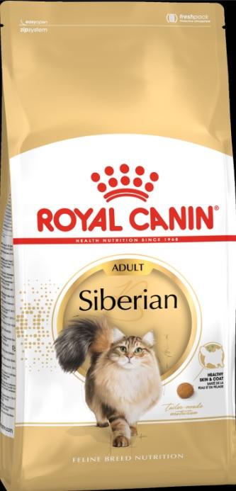 Корм Роял Канин сухой для сибирских кошек в возрасте старше 12 месяцев Siberian Adult, в ассортименте, Royal Canin