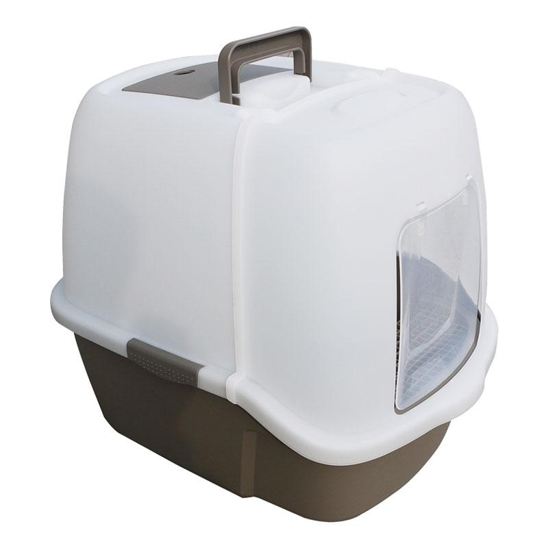 Триол Туалет-бокс с совком, угольным фильтром и сетчатым порогом, 51*39*43 см, Triol