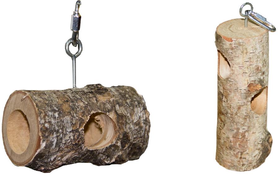 ПарротсЛаб Фуражная игрушка для средних и крупных птиц, грызунов, в ассортименте, ParrotsLab