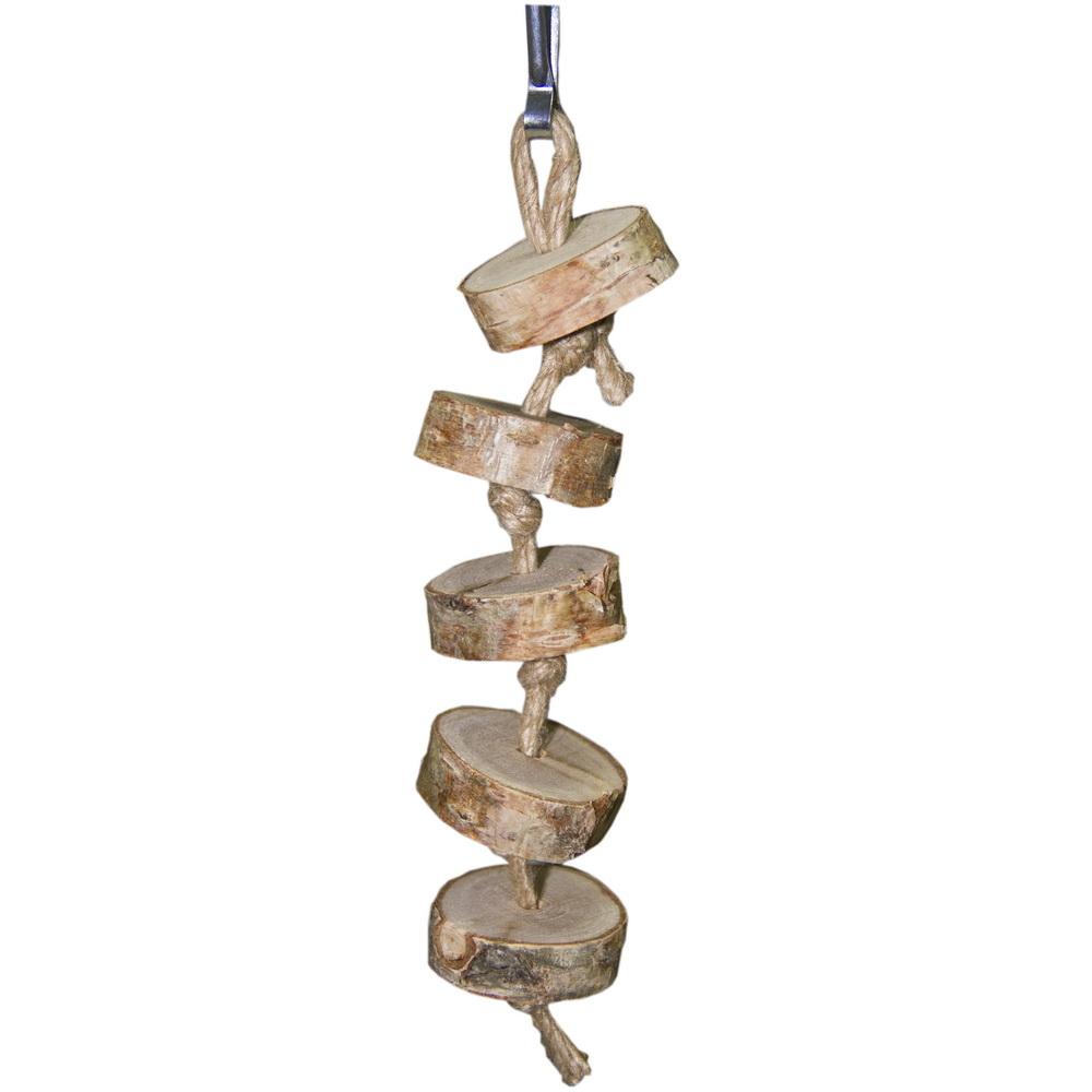 ПарротсЛаб Игрушка PL1039 для птиц, 17*3,5 см, ParrotsLab