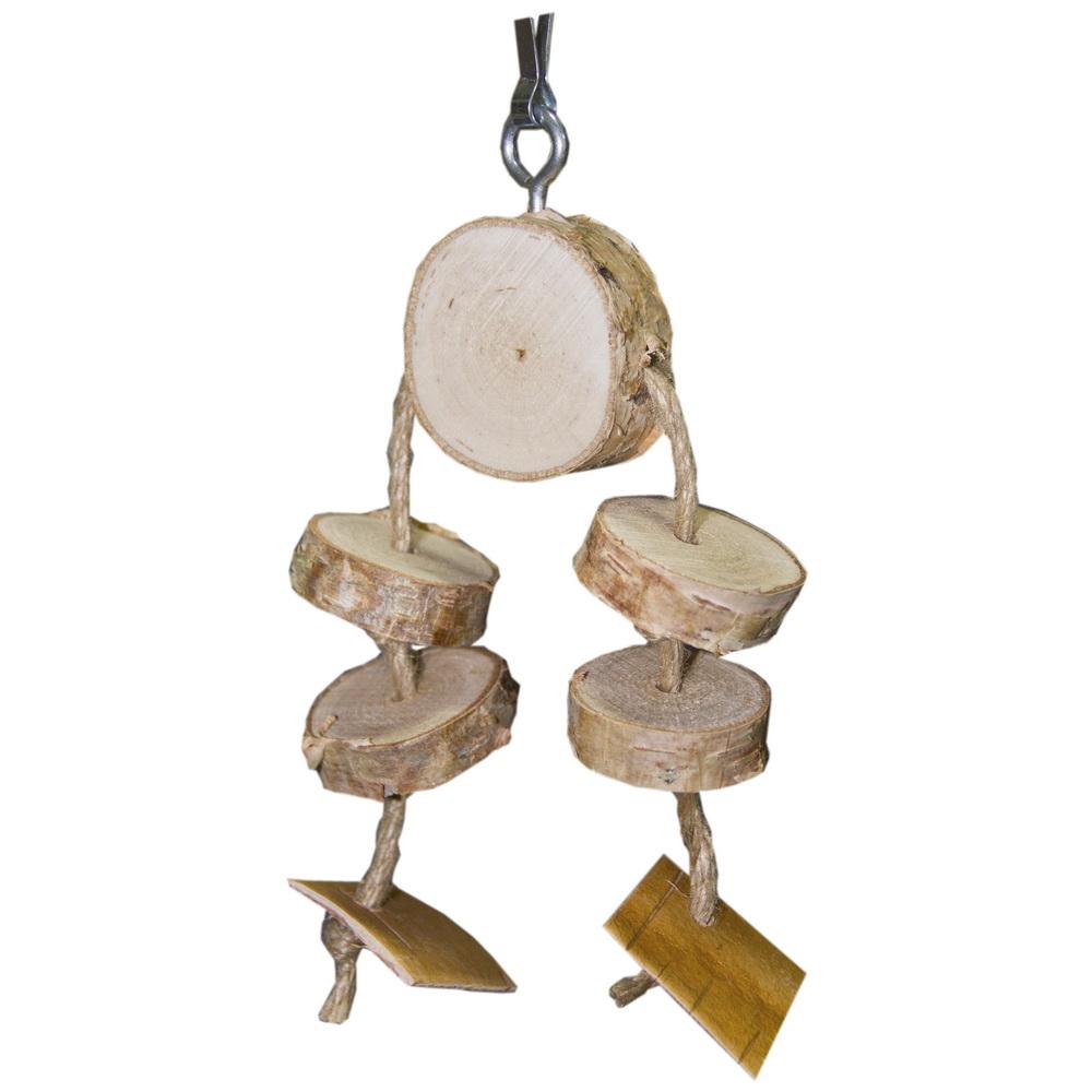 ПарротсЛаб Игрушка PL1040 для птиц, 16*10 см, ParrotsLab