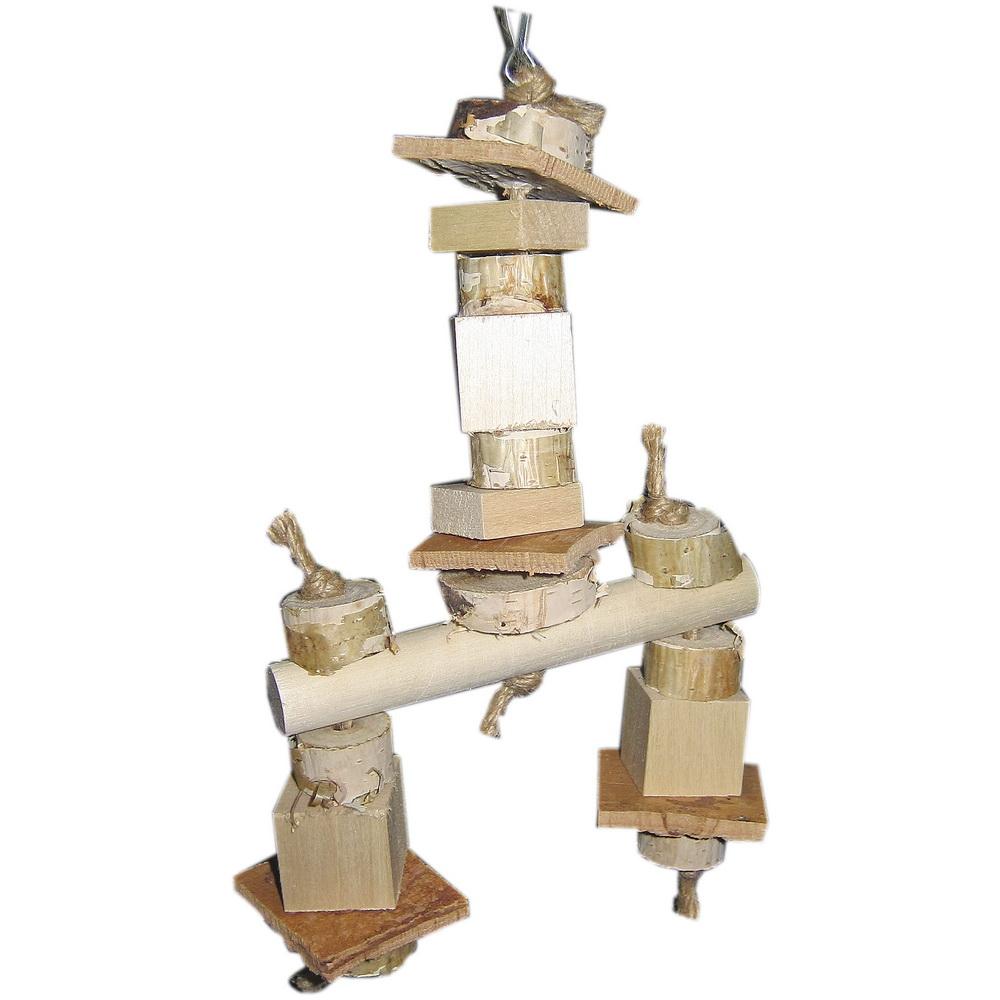ПарротсЛаб Игрушка PL1046 для птиц, 25*12 см, ParrotsLab