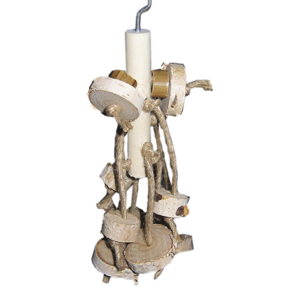 ПарротсЛаб Игрушка PL1049 для птиц, 21 см, ParrotsLab