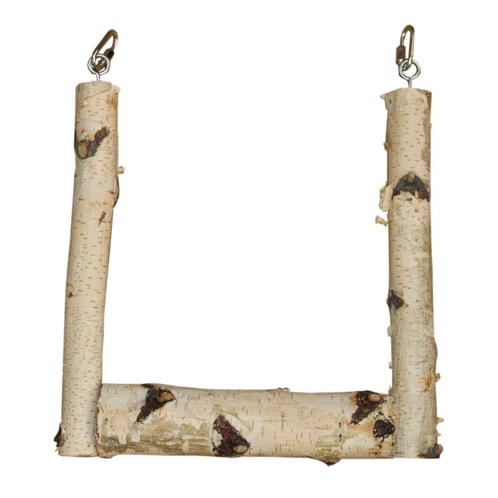 ПарротсЛаб Деревянные качели для птиц, в ассортименте, ParrotsLab