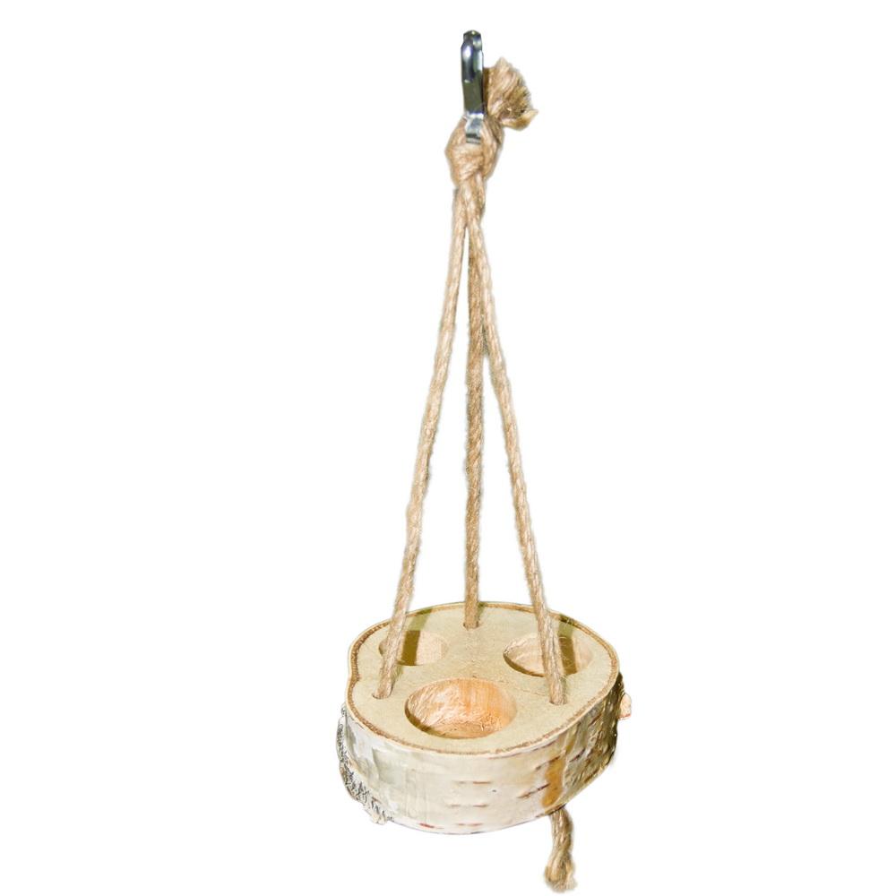 ПарротсЛаб Фуражная игрушка PL2053 для мелких птиц, диаметр 7-8 см, ParrotsLab