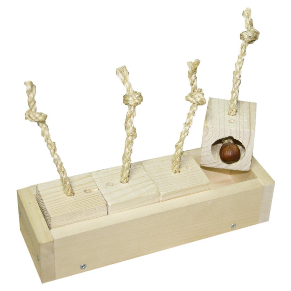 ПарротсЛаб Фуражная игрушка PL4037 для крупных попугаев, 22*7*5 см, ParrotsLab