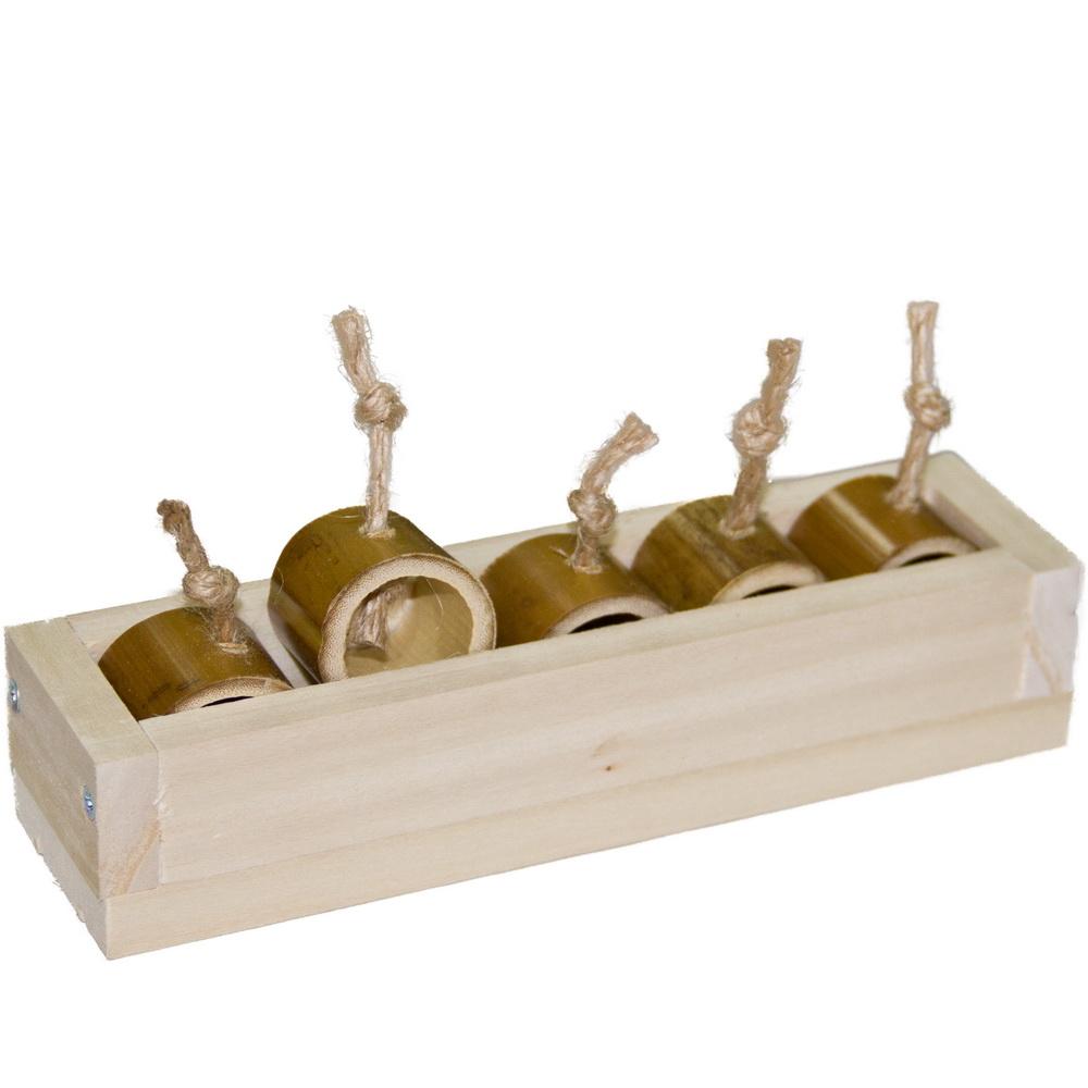 ПарротсЛаб Фуражная игрушка PL4054 для птиц, 18*5*3,5 см, ParrotsLab