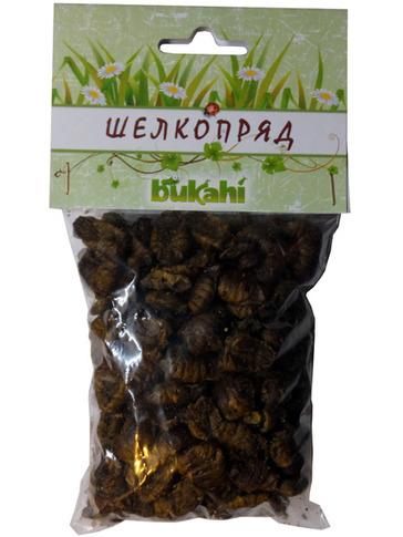 Букахи Сушеные куколки тутового шелкопряда для насекомоядных, 40 г, Bukahi