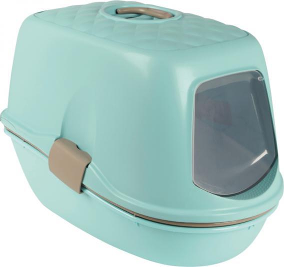 Трикси Туалет-бокс для кошек Berto Top, двойное дно и решетка(сетка), 39*59*42 см, в ассортименте, Trixie