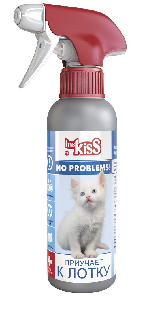 Миссис Кисс Спрей Приучает к лотку зоогигиенический для кошек, 200 мл, Ms. Kiss
