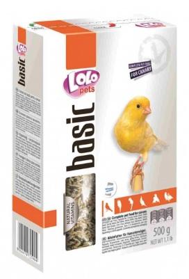 ЛолоПетс Корм для канареек полнорационный Canary Food Complete, 500 г, LoloPets