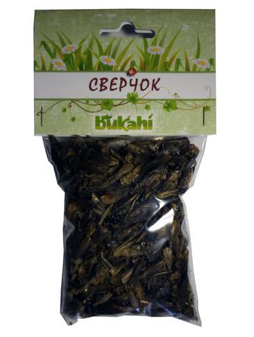 Букахи Сушеный сверчок для насекомоядных, в ассортименте, Bukahi