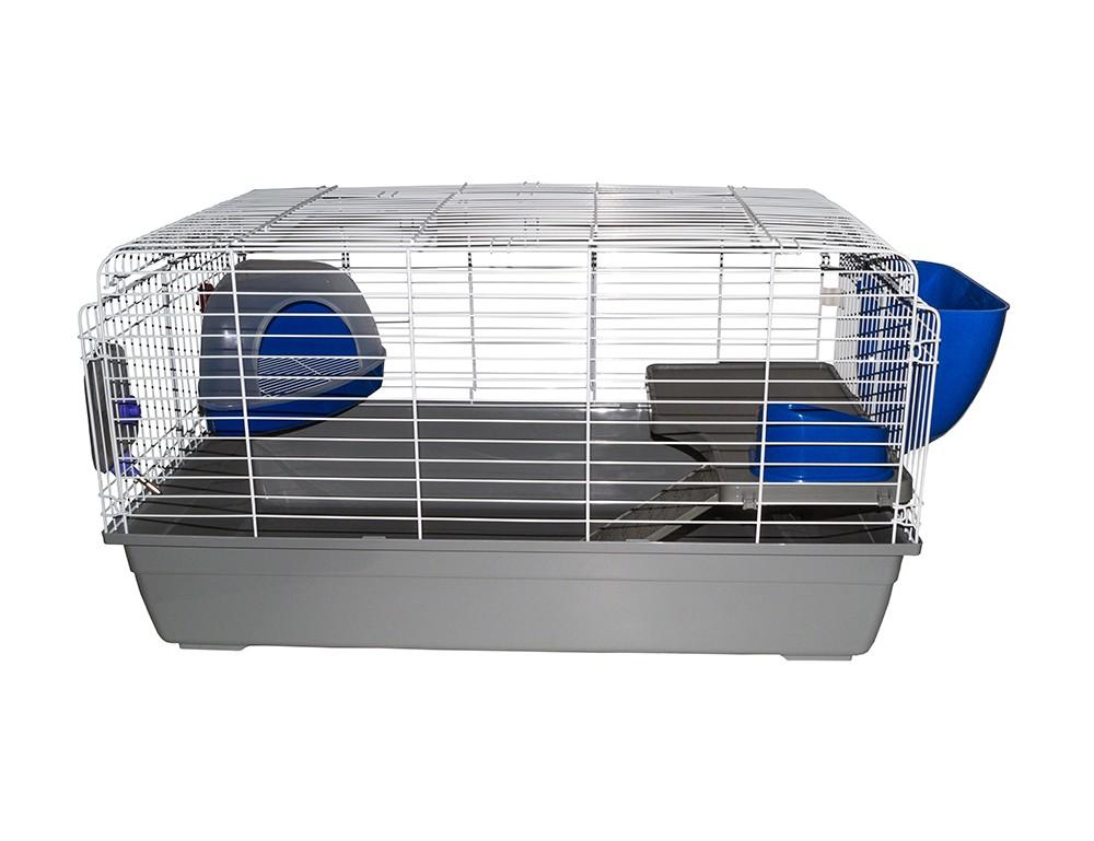 Клетка для кроликов и морских свинок, полная комплектация, 99*56,5*54 см, Kredo
