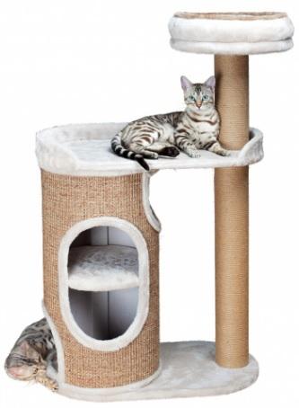 Трикси Домик-башня с платформой для кошек Falcot, 70*38*117 см, Trixie