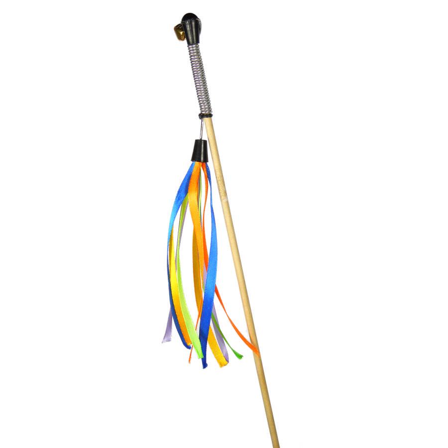 Удочка-махалка Ленты на веревке, 50 см, GoSi