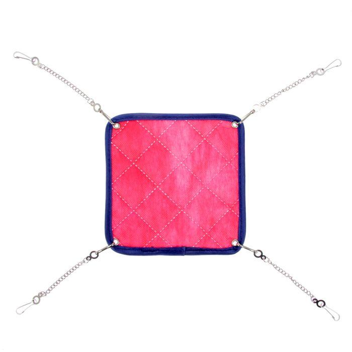 ШуШу Гамак Стандарт подвесной двусторонний на металлических цепочках, в ассортименте, Shu-Shu