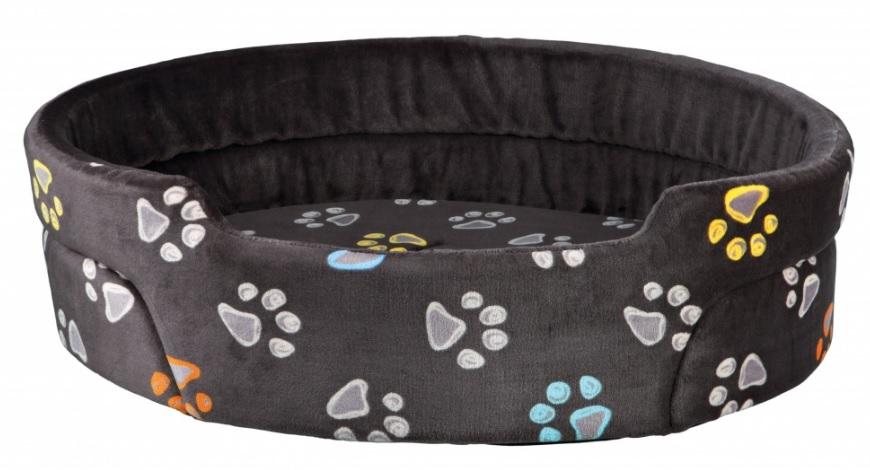 Трикси Лежак-софа Jimmy с бортиками серый, для собак и кошек, в ассортименте, Trixie