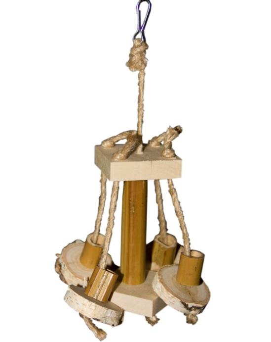 ПарротсЛаб Игрушка PL1052 для птиц, 20*12 см, ParrotsLab