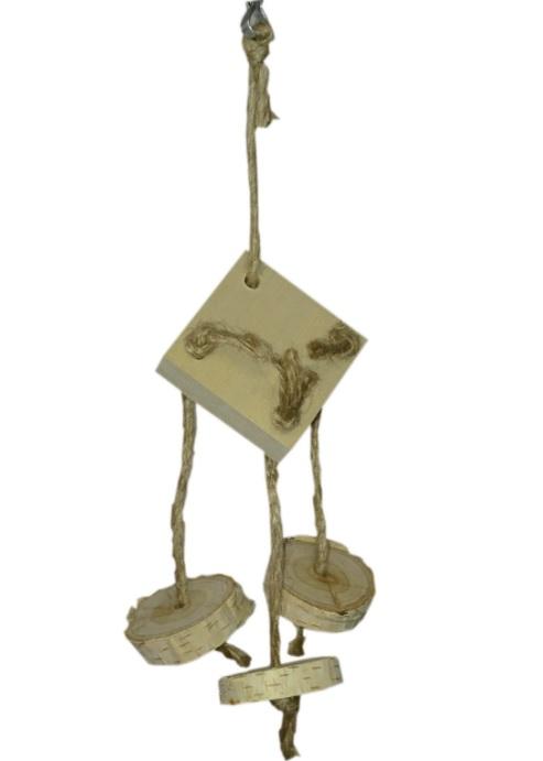ПарротсЛаб Игрушка PL1055 для птиц, 22*10 см, ParrotsLab