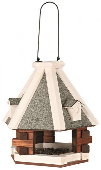 Трикси Кормушка деревянная для птиц и грызунов подвесная, 36*35 см, Trixie