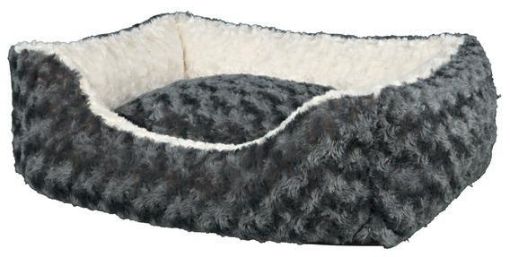 Трикси Лежак-софа прямоугольный с бортиками Kaline серый, в ассортименте, Trixie