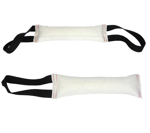 Тренировочная игрушка для собак Кусалка белая Hard Dog, 30 см, в ассортименте, GoSi