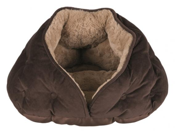 Трикси Лежак-пещера Malu, 47*41*27 см, коричневый, Trixie
