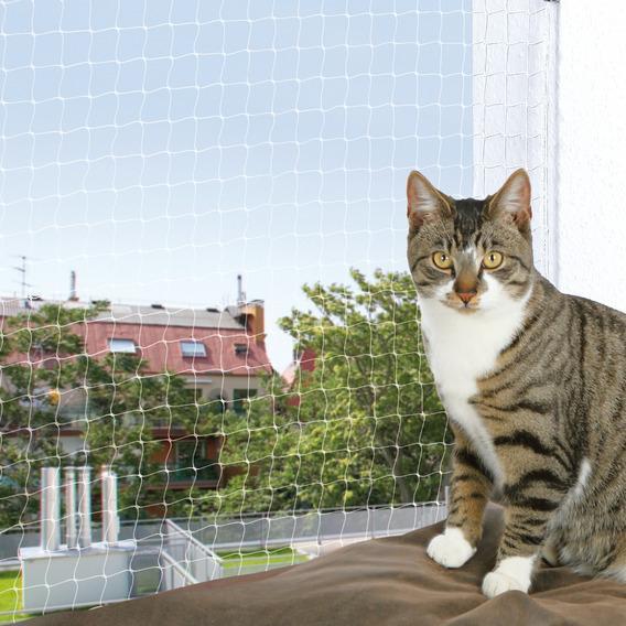 Трикси Сетка прозрачная защитная на окно, 6*3 м, капроновая леска, Trixie