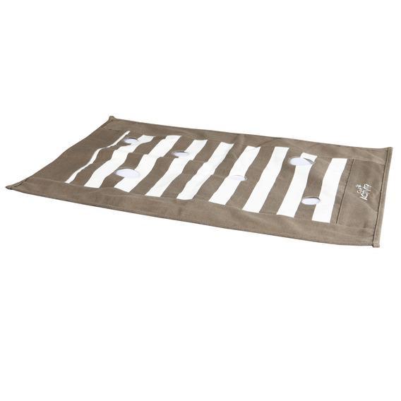 Трикси Подстилка-игрушка коврик шуршащий с отверстиями Cat Activity для кошек, 70*50 см, Trixie