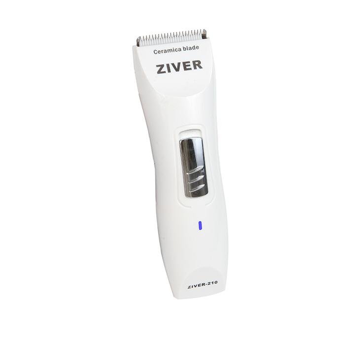 Зивер Машинка для стрижки аккумуляторно-сетевая Ziver-210 для кошек и собак, 10 Вт, керамический нож, Ziver