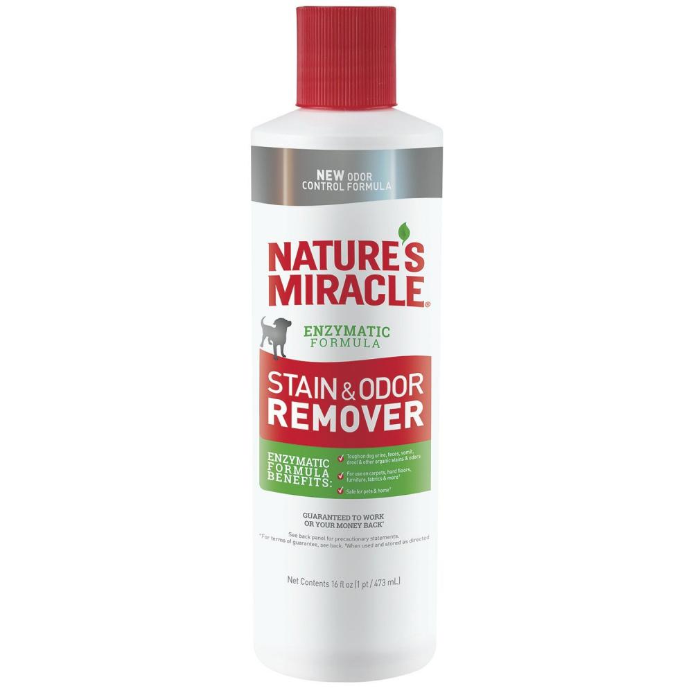 8in1 Уничтожитель пятен и запахов NM Stain/Odor Remover универсальный для собак, в ассортименте, Natures Miracle