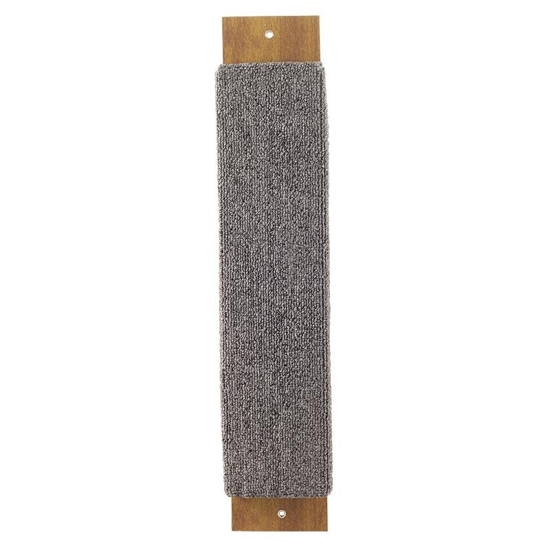 Гамма Когтеточка широкая, 53*11*3 см, в ассортименте, ковролин, Gamma