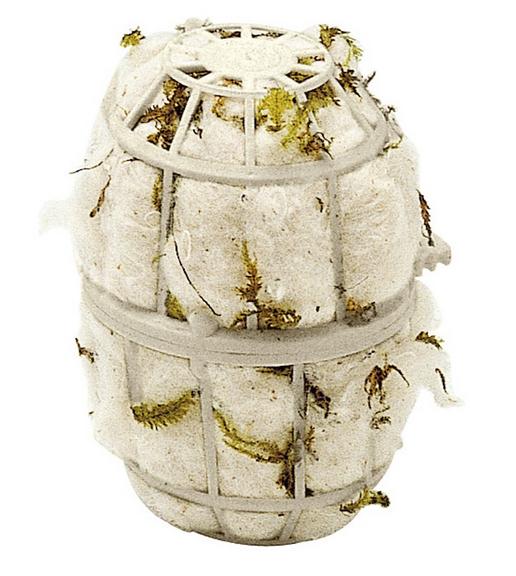 Ферпласт Материал для постройки гнезда FPI 4464 для птиц, 8*10 см, вата/мох, Ferplast