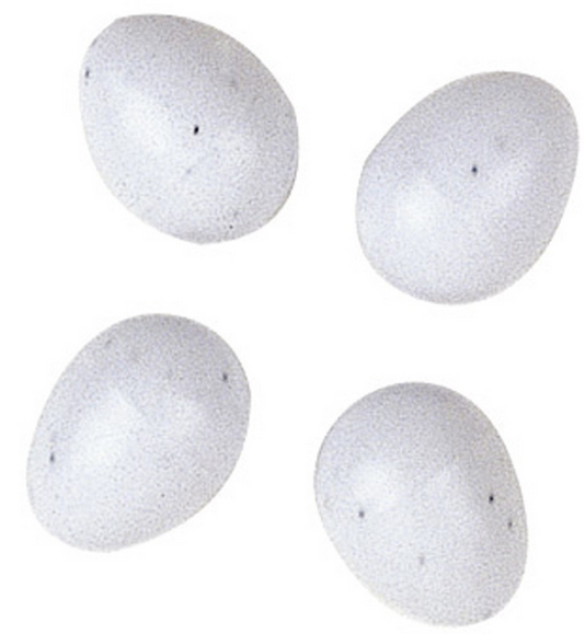 Ферпласт Подкладные яйца-муляжи FPI 4464, 4 штуки, 1,3*1,6 см, Ferplast