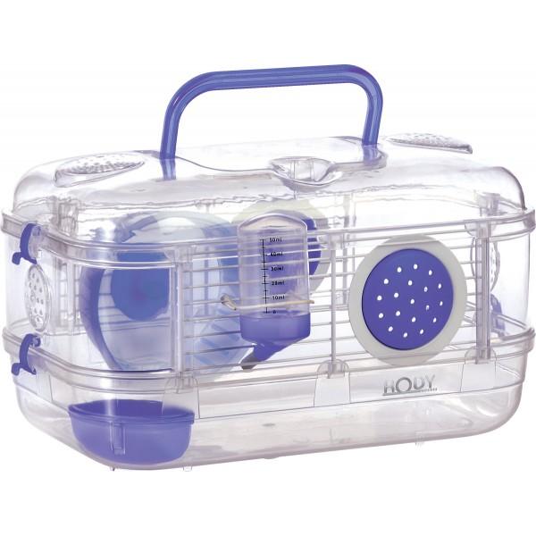 Золюкс Клетка-переноска для мелких грызунов Rody Mini, 33*21*18 см, в ассортименте, Zolux