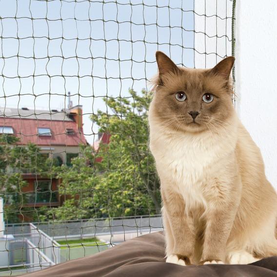 Трикси Сетка на окно защитная усиленная, оливковая, в ассортименте, Trixie
