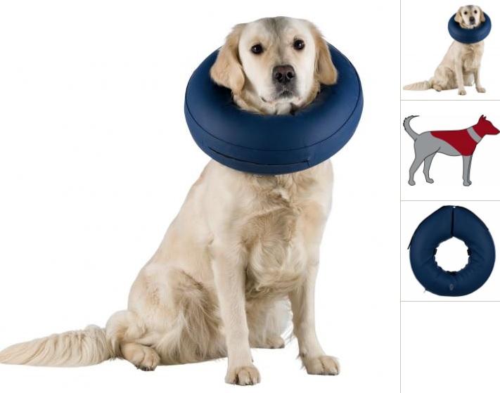 Трикси Надувной защитный воротник для собак, в ассортименте, Trixie